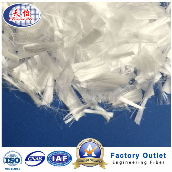 6mm Micro Chopped Synthetic PP Fibre Building Material pictures & photos