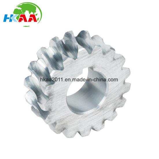 Customized Steel 17 Teeth Worm Wheel Gear used for meat grinder
