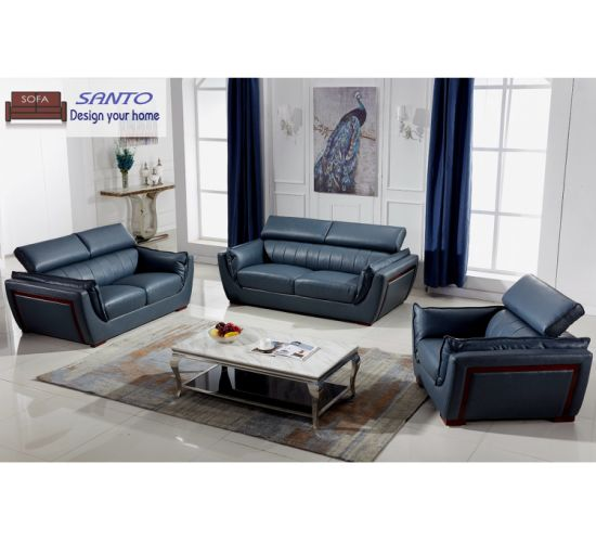 Genuine Leather Sofa Set 7 8 9 Seater Modern Style Sofa Luxury Sofa Design  Royal Furniture Sofa Set Dubai Leather Sofa Furniture