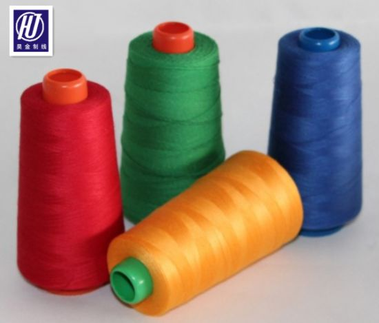 Cheap Price High Strength Polyester Sewing Thread 210d/3 1500 Yarn pictures & photos