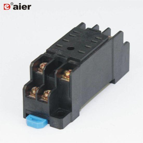 China Manufacture Jqx 13f Omron 8 Pin Relay Socket Ptf08a China Relay Socket Relay 8 Pin Socket