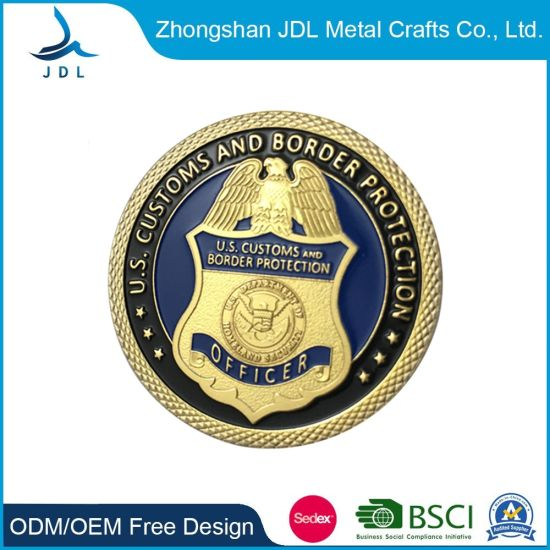 Promotional Custom Metal Zinc Alloy Coin for Souvenir with Gold Plating Wholesale Mass High Quality Fine Cheap Challenge Coins (057)