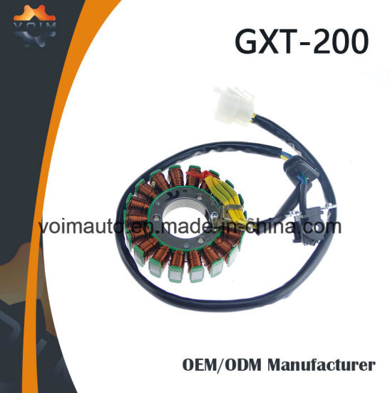 China Motorcycle Parts Magneto Stator Coil for Gxt-200 - China