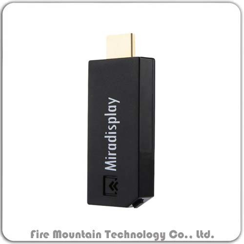 China F3 Mirascreen Wireless Dongle Support Phone PC