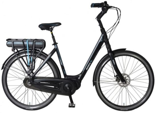 Dutch City Bike with Bafang Middle Motor