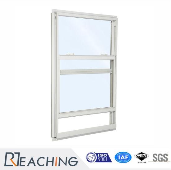 China Australia Standard Aluminum Window Metal Hung Single