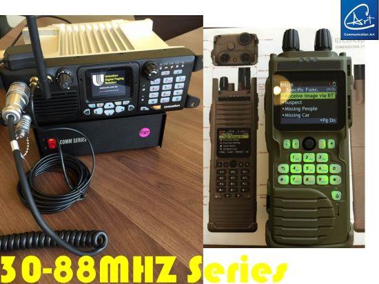 China Handheld Two Way Radio in 66-88MHz Low VHF Band