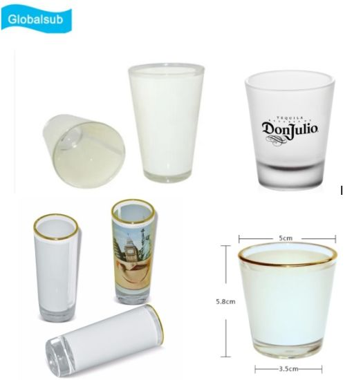 High Quality Sublimation Blank Beer Mug Glass Wine Cup
