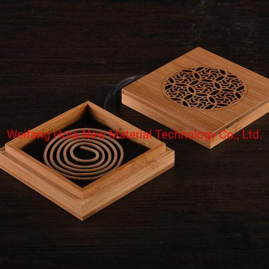 Wooden Double-Deck Oud Incense Burner, Incense Holder, Incense Box