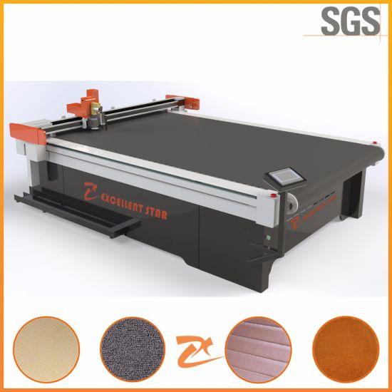Automatic Feeding Working Table Knife Carpet Cutting Machine 2516