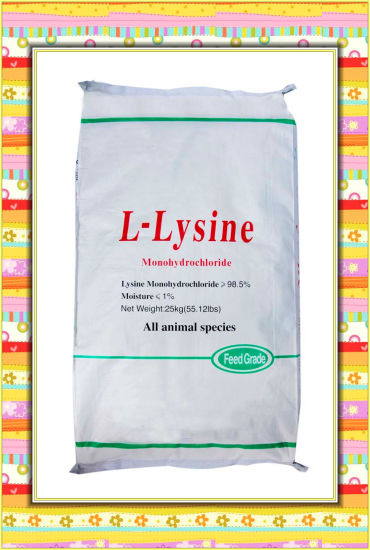 98.5%L-Lysine Feed Additive pictures & photos