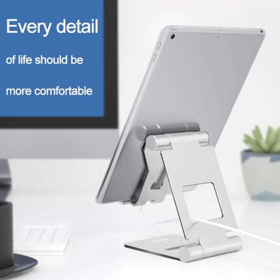 Factory Wholesale Adjustable Desktop Tablet Phone Holder Cell Phone Stand