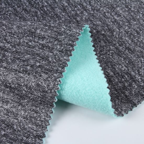 Compound Fabric/100%Polyester Warp Knitting Suede Fabric Bonded Sherpa Fabrics