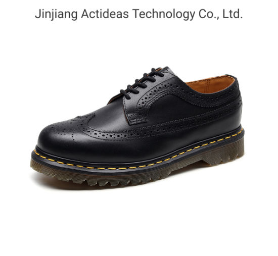 Fashion Boots Low Heel Ladies Leather Upper Rubber Sole Boots
