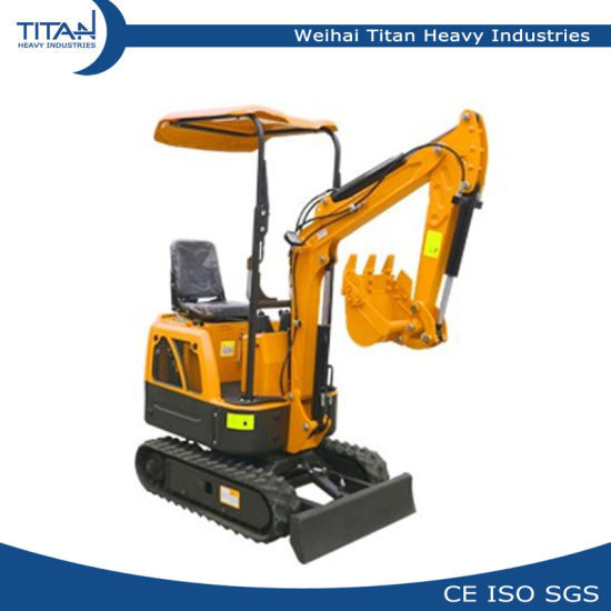 0 8ton Garden Mini Digger 800kg Mini/Small Hydraulic Crawler Excavators  with Best Price