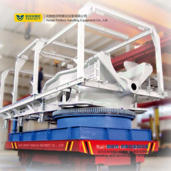 Automated Rail Transfer Truck with Warning Light pictures & photos