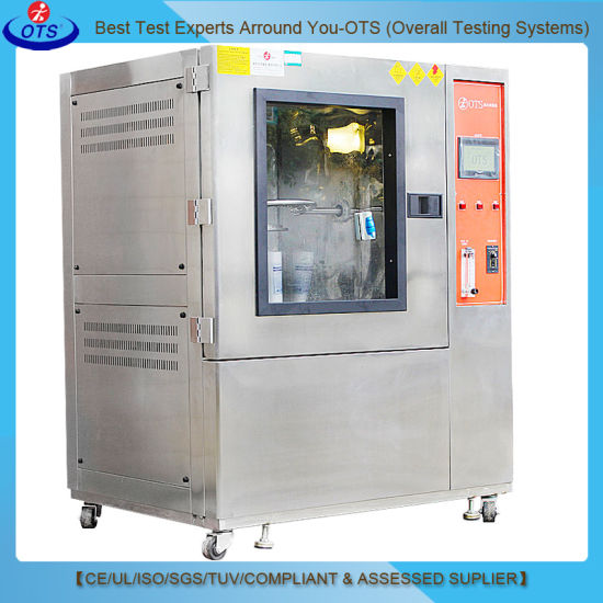 Touch Screen Ipx1/2/3/4 Standard Rain Water Spray Test Chamber