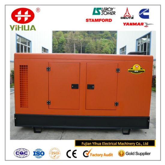 Quanchai Engine 10-37.5kVA/8-30kw Silent Home Used Diesel Power Generator Set pictures & photos