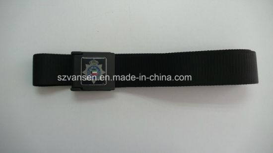 Military Belt for Male with Steel Buckle pictures & photos