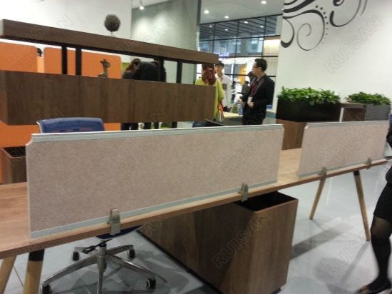Acoustic Desk Screen, Office Partition, Workstation, Office Screen pictures & photos