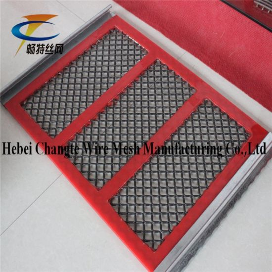 High Carbon Steel Self Cleaning Screen Mesh for Sand & Gravel Vibrating Screen