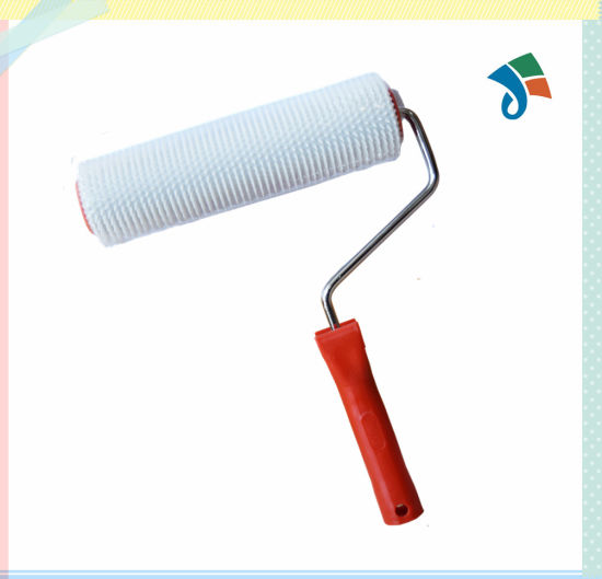Epoxy Industrial Flooring Bubble Removing Plastic Handle Spike Roller