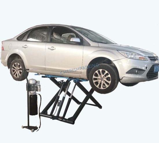 Low Rise Scissor Car Lift for Garage