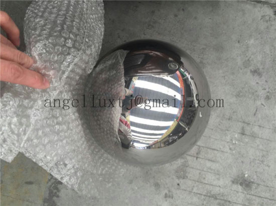 Large Stainless Steel Hollow Sphere Outdoor Decorative Ball pictures & photos