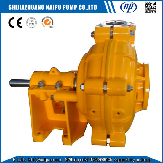 150 Zjr (8X6) Horizontal Rubber Lined Slurry Pumps pictures & photos