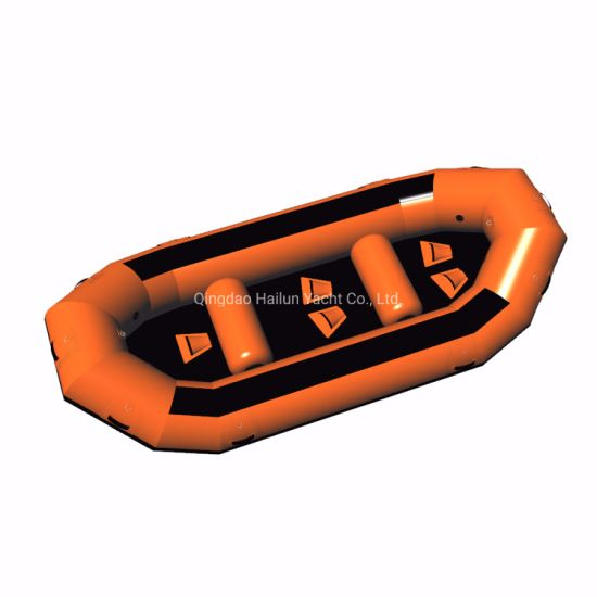 Inflatable Water Rafting Boats PVC Material Water Sports Rafting Boat