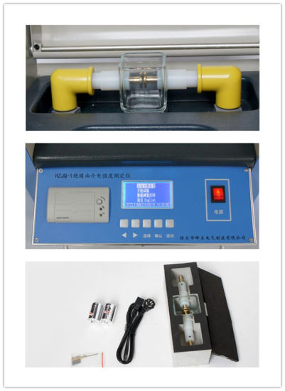Bdv-Iij-II Oil Tester Dielectric Strength Insulating Oil Test Equipment pictures & photos