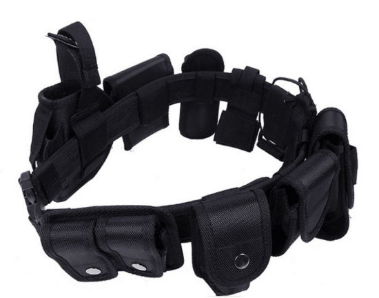 Police Multifunctional Nylon Black Police Tactical Belt pictures & photos