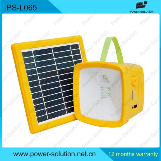 Low Cost Led Solar Light With Radio Mobile Phone Charger Lantern