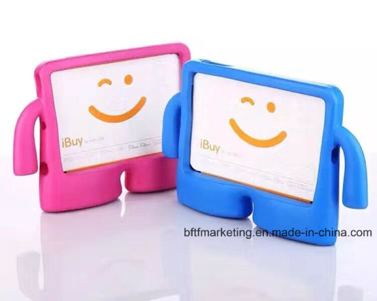 Cute Shockproof Kids Handle EVA Foam Case Cover for iPad pictures & photos