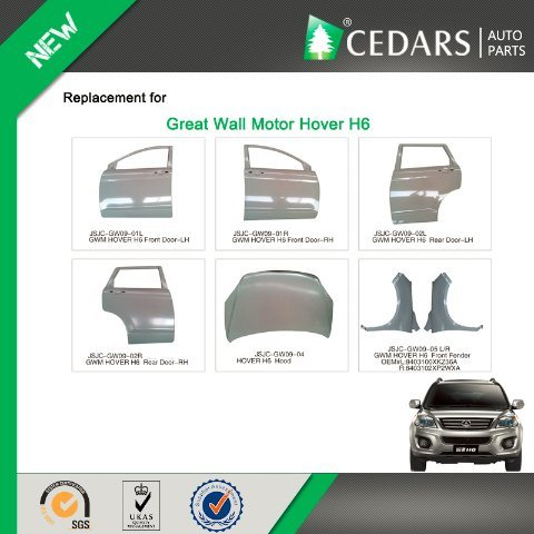 Auto Spare Parts Wholesale for Great Wall Motor Hover H6