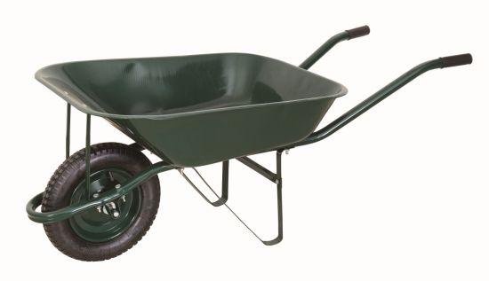 Genial Garden Tools 5 Cuft Metal Wheel Barrow Wheelbarrow For Gardening,  Construction