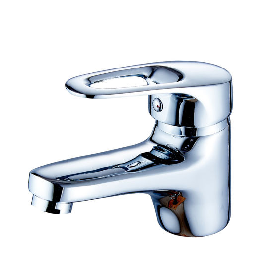 Flg Chrome Single Handle Hole Bathroom Basin Tap