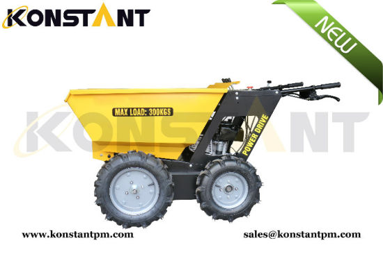 Multi-Function Mini Hydrostatic Dumper Pertol pictures & photos