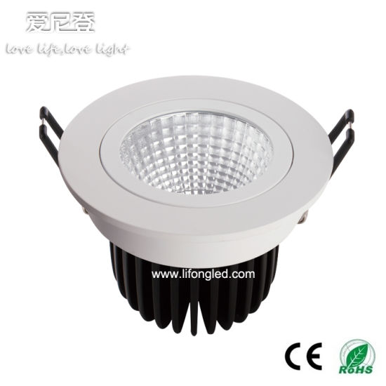Good Price Recessed COB 18W LED Downlight Dimmable LED Spotlight pictures & photos