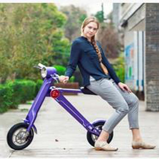Folding Alloy E Bikes Fat Tire Electric Bike