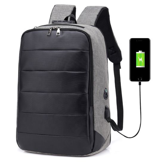 Custom Travel Student Back Pack Business Anti-Theft USB Charging Computer Bag Waterproof Anti Theft Laptop Backpack