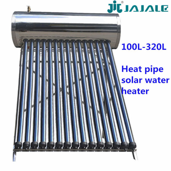 Heat Pipe Compact Pressure Solar Water Heaters