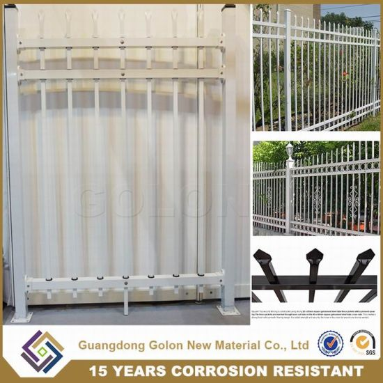 China Ornamental Used Wrought Iron Fencing - China Guard Fencing ...