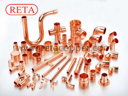 Refrigeration Copper Fitting for R410 a pictures & photos