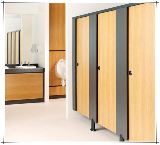 China High Quality Solid Phenolic Core Toilet Partition For Airport Mesmerizing Phenolic Bathroom Partitions Decor