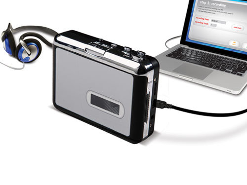 Wholesale Super USB Cassette to MP3 Converter Capture Audio Music Player Tape to PC Player pictures & photos