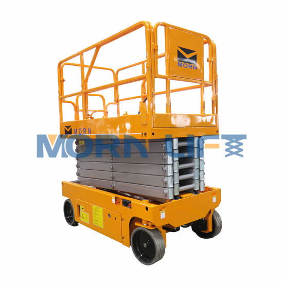 8m Electric Scissor Lift for Aerial Work with Capacity 230kg Ce Certified