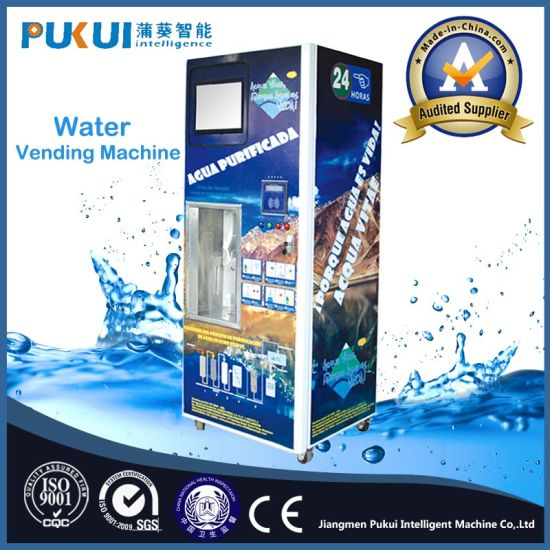 New Product Pure Water Purification System Purified Water Vending Machines pictures & photos
