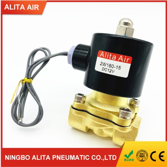 Electric Control 1/2 Inch Pneumatic Water Solenoid Valve