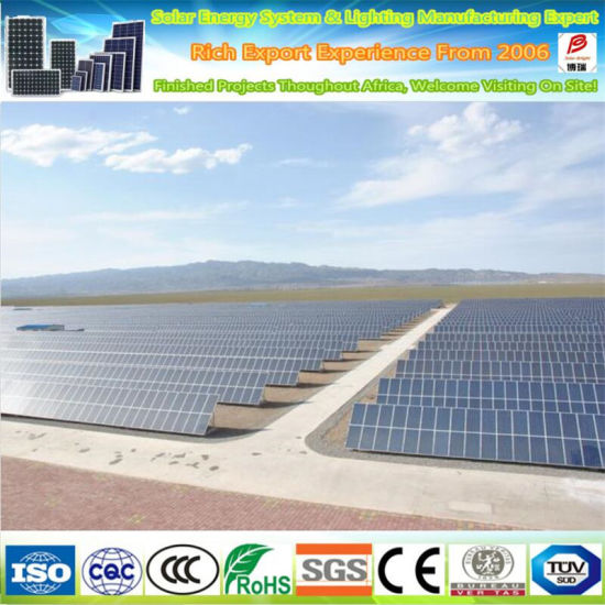 Hot Hight Efficient Solar Cell Mono 320W Solar Panel pictures & photos